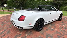 2011 Bentley Continental Supersports Convertible for sale 100889465