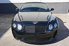 2011 Bentley Continental Supersports Convertible for sale 101049711