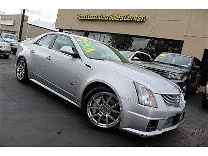 2011 Cadillac CTS V Sedan for sale 100840127