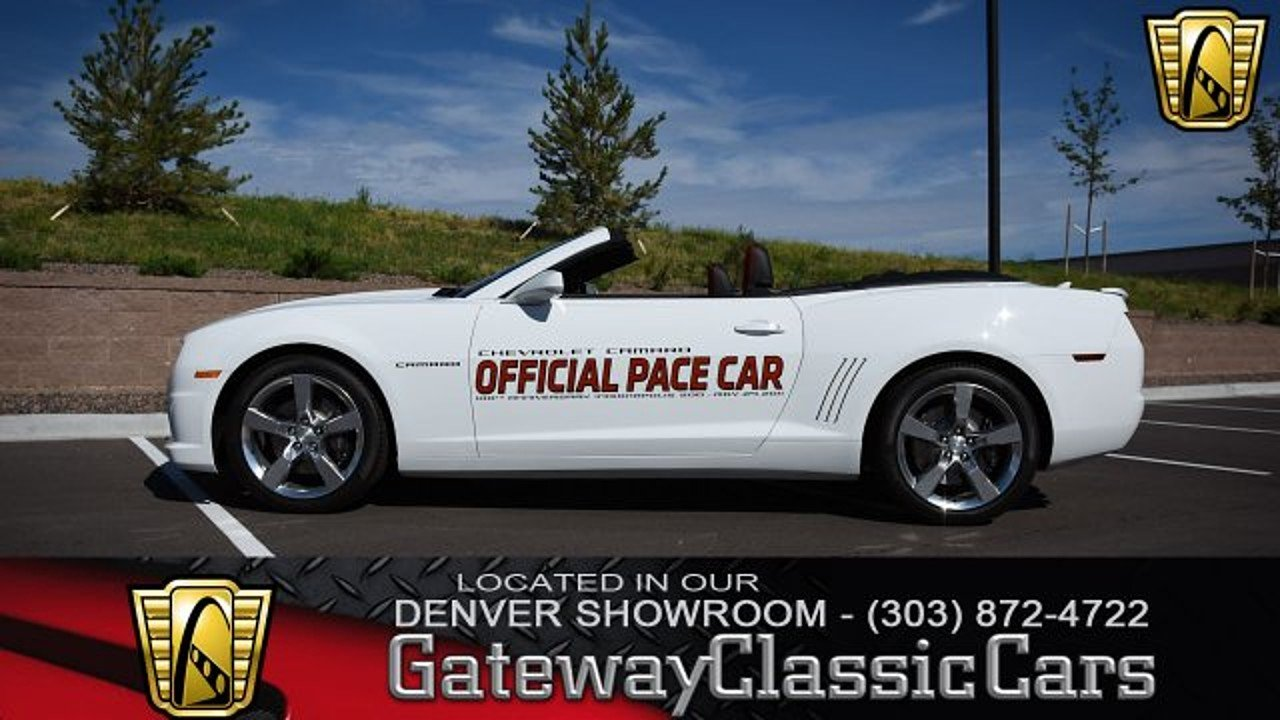 2011 Chevrolet Camaro SS Convertible for sale 100920120