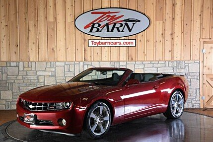 2011 Chevrolet Camaro LT Convertible for sale 100988700