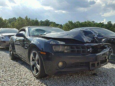 2011 Chevrolet Camaro LT Convertible for sale 101055674
