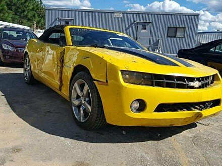 2011 Chevrolet Camaro LT Convertible for sale 101055800