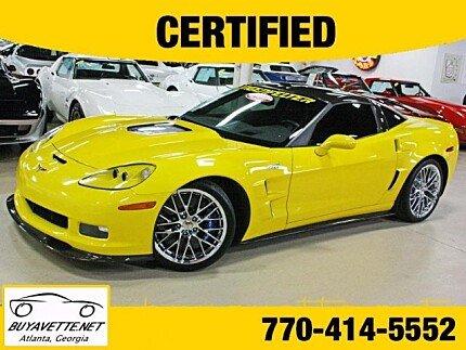 2011 Chevrolet Corvette ZR1 Coupe for sale 100876862