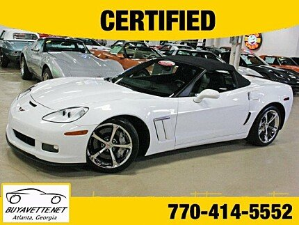 2011 Chevrolet Corvette Grand Sport Convertible for sale 100910185
