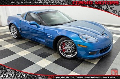 2011 Chevrolet Corvette Z06 Coupe for sale 100962109