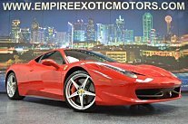 2011 Ferrari 458 Italia Coupe for sale 100778189