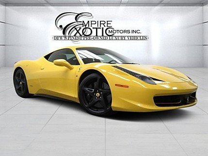 2011 Ferrari 458 Italia Coupe for sale 100856983