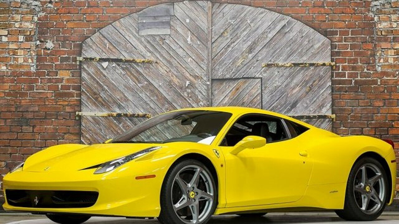 2011 Ferrari 458 Italia Coupe for sale 100943223