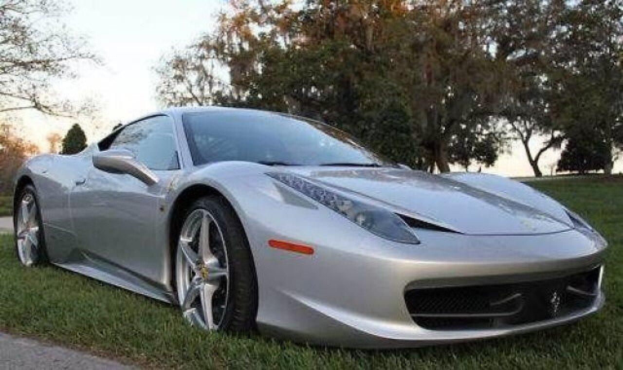 2011 ferrari 458 italia for sale near cadillac, michigan 49601