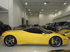 2011 Ferrari 458 Italia Coupe for sale 100890217