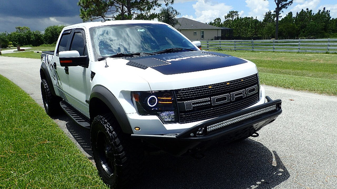 2011 ford f150 4x4 crew cab svt raptor for sale near palm bay florida 32909 classics on. Black Bedroom Furniture Sets. Home Design Ideas