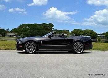 2011 Ford Mustang Shelby GT500 Convertible for sale 100765352