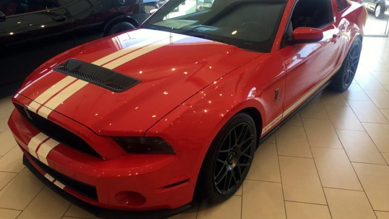 2011 ford mustang shelby gt500 coupe for sale 101052549