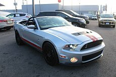 2011 Ford Mustang Shelby GT500 Convertible for sale 100909622
