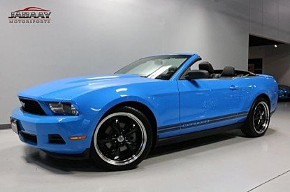 2011 Ford Mustang Convertible for sale 100940577