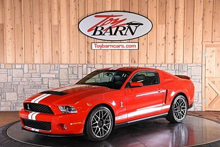2011 Ford Mustang Shelby GT500 Coupe for sale 100983826