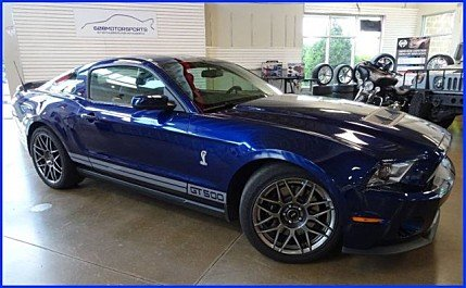 2011 Ford Mustang Shelby GT500 Coupe for sale 100991833