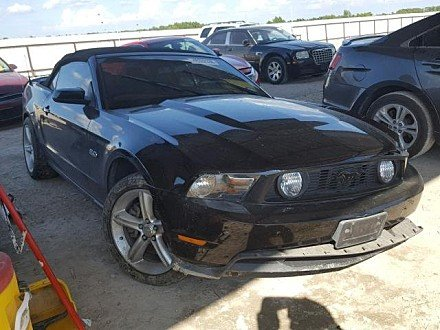2011 Ford Mustang GT Convertible for sale 101052985