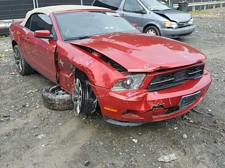 2011 Ford Mustang Convertible for sale 101053524