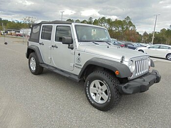 2011 Jeep Wrangler 4WD Unlimited Sport for sale 100837662