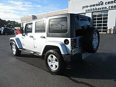 2011 Jeep Wrangler 4WD Unlimited Sahara for sale 100924773