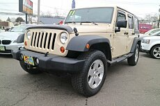 2011 Jeep Wrangler 4WD Unlimited Sport for sale 100947014