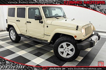 2011 Jeep Wrangler 4WD Unlimited Sahara for sale 100947208