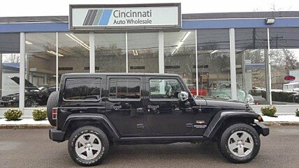 2011 Jeep Wrangler 4WD Unlimited Sahara for sale 100969239