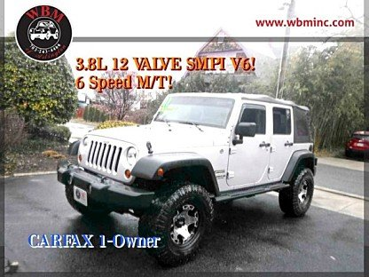 2011 Jeep Wrangler 4WD Unlimited Sport for sale 100969548