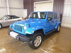 2011 Jeep Wrangler 4WD Unlimited Sahara for sale 100973073