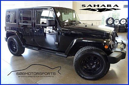 2011 Jeep Wrangler 4WD Unlimited Sahara for sale 100974465