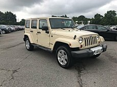 2011 Jeep Wrangler 4WD Unlimited Sahara for sale 100996330