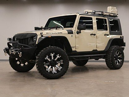 2011 Jeep Wrangler 4WD Unlimited Rubicon for sale 100996770