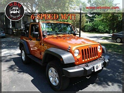 2011 Jeep Wrangler 4WD Sport for sale 101004368