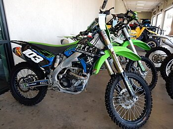 2011 Kawasaki KX250F for sale 200560674