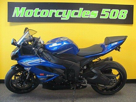 2011 Kawasaki Ninja ZX-6R for sale 200405563