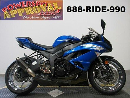 2011 Kawasaki Ninja ZX-6R for sale 200624550