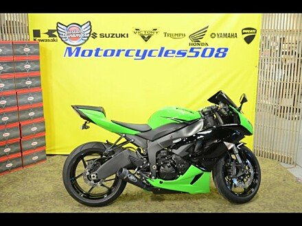 2011 Kawasaki Ninja ZX-6R for sale 200635005