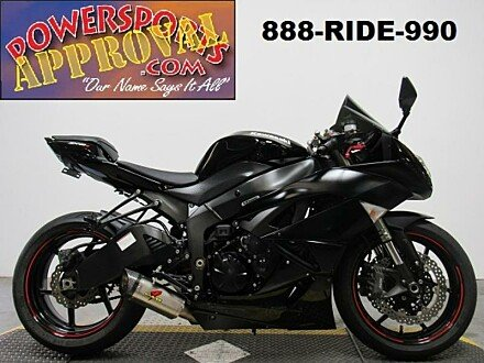 2011 Kawasaki Ninja ZX-6R for sale 200638779