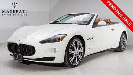 2011 Maserati GranTurismo Convertible for sale 100858269