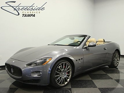 2011 Maserati GranTurismo Convertible for sale 100860306