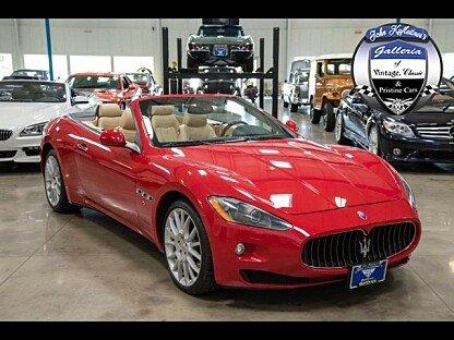 2011 Maserati GranTurismo Convertible for sale 100892574