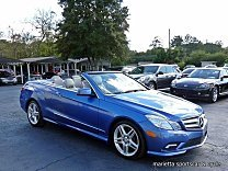 2011 Mercedes-Benz E550 Cabriolet for sale 100894248