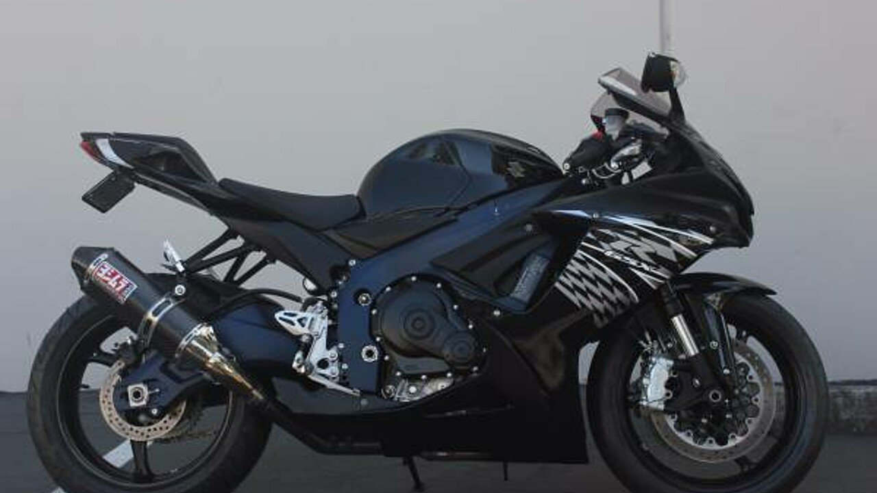2011 Suzuki GSX-R600 for sale 200476445