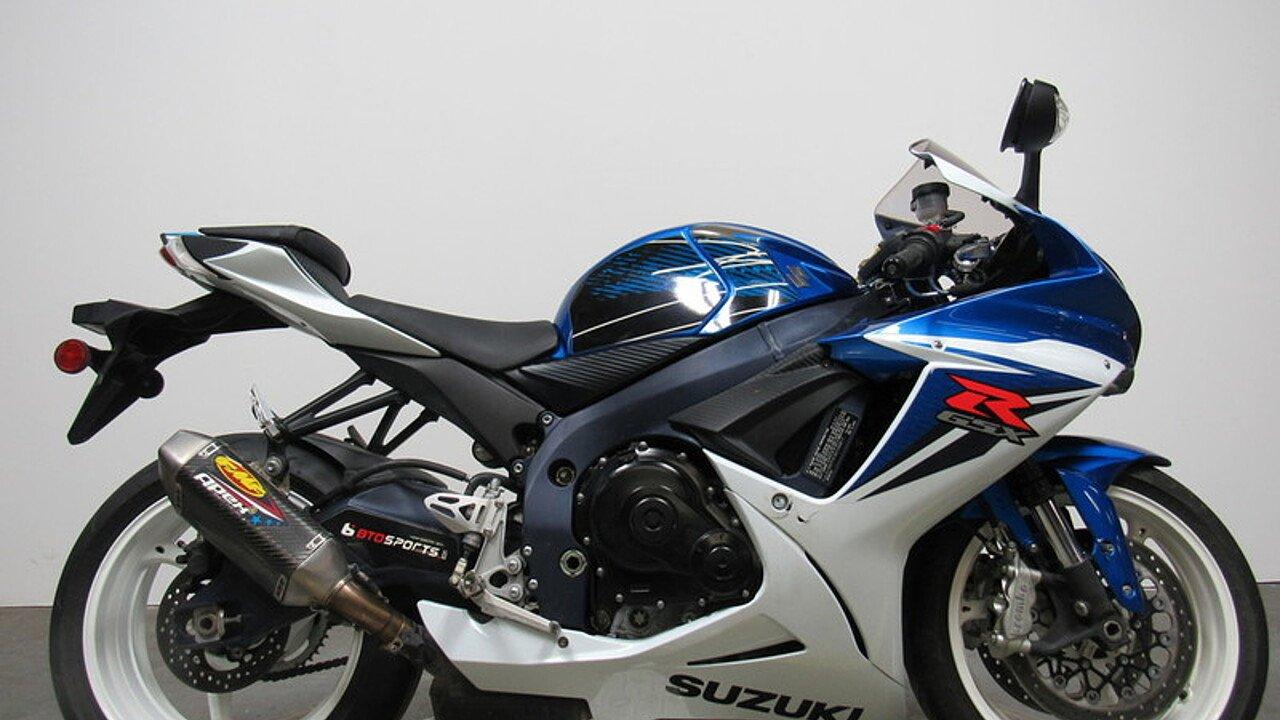 2011 Suzuki GSX-R600 for sale 200551650