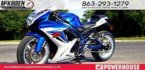 2011 Suzuki GSX-R600 for sale 200642995