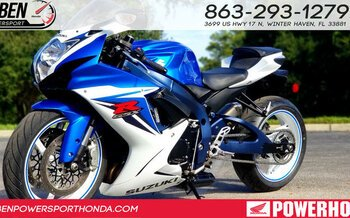 2011 Suzuki GSX-R600 for sale 200642995
