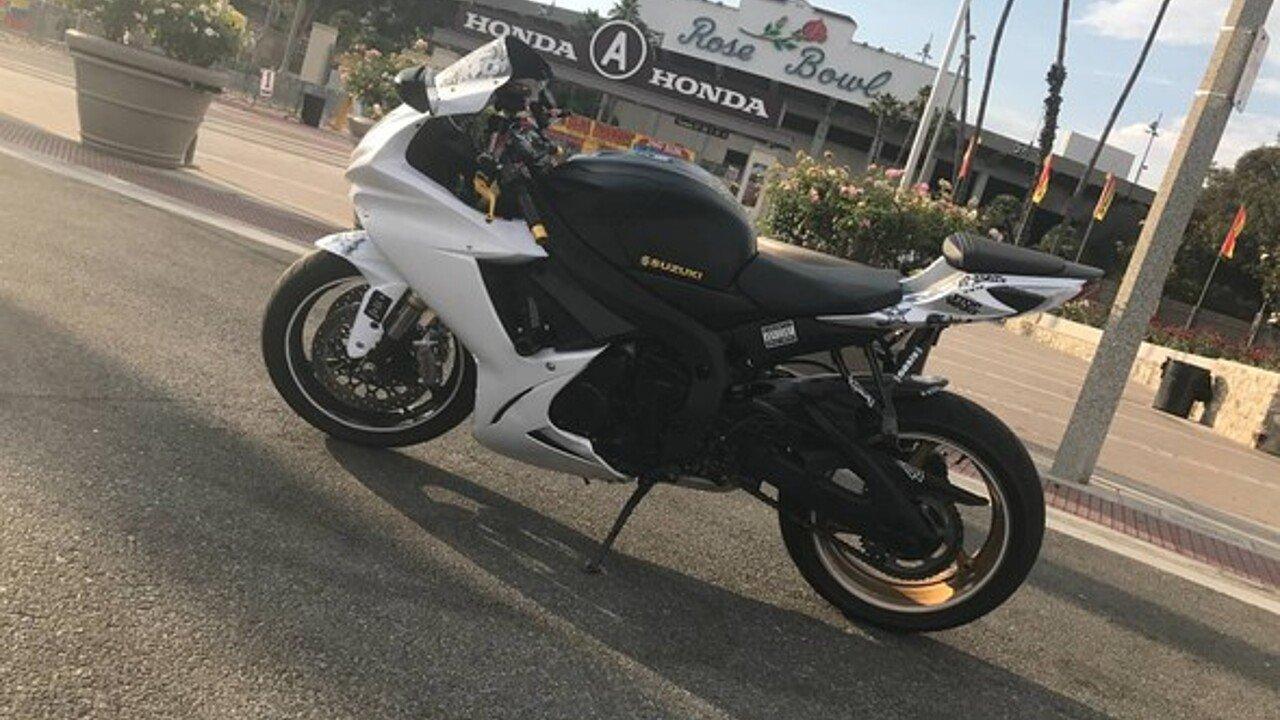 2011 Suzuki GSX-R750 for sale 200476364