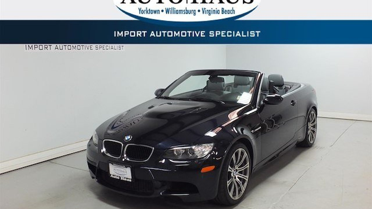 2011 bmw M3 Convertible for sale 101021783